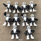 10x Playskool Imperial Biker Scout Trooper 2.5 Figures Galactic Hero