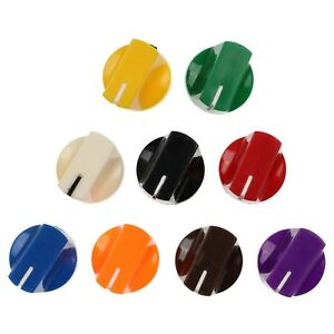 """10 Colours Duckbill Knobs for Keyed Potentiometer / Rotary Switch / Encoder 1/4"""""""