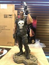 SIDESHOW COLLECTIBLES PUNISHER EXCLUSIVE COMIQUETTE STATUE MARVEL #275 OLIVETTI