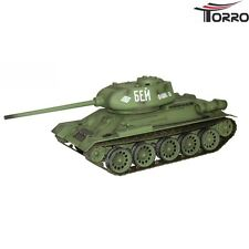 RC Panzer Russischer T34/85 Torro-Edition 1:16 Sound Rauch Schussfunktion 2.4GHz
