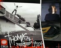 CIRCA vintage 2003 skateboard JAMIE THOMAS 204 poster Flawless New Old Stock