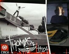 CIRCA vintage 2003 skateboard JAMIE THOMAS 204 poster ~MINT~NEW OLD STOCK~!!