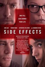 SIDE EFFECTS - 27x40 D/S Original Movie Poster One Sheet 2013 MINT SODERBERGH