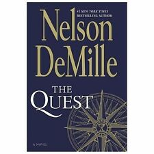 The Quest by Nelson DeMille (2013, Hardcover) $26 list - NEW
