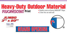 Grand Opening Banner Sign 20 Feet now open new business new management owner