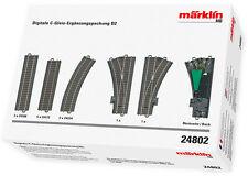 Märklin H0 24802 Digitale C-Gleis-Ergänzungspackung D2 NEU