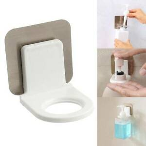 Bathroom Wall Mounted Rack Hook Strong Suction Cup Shower Gel Shampoo Holder .