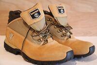 Timberland Men's Wheat Nubuck Field Boots Leather Size 11M 14034