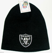New Oakland Raiders Official licened NFL Knit Beanie hat