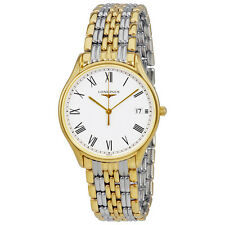 Longines Lyre White Dial Two Tone Ladies Watch L4.759.2.11.7