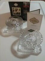 Shannon CRYSTAL Console Candle Holders by GODINGER (set of 2)