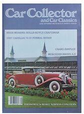 Car Collector and Car Classics September 1982--Cadillac, Mercedes-Benz, Pontiac