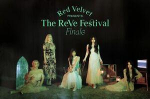 RED VELVET [THE REVE FESTIVAL] FINALE VERSION OFFICIAL UNFOLDED POSTER [GROUP]