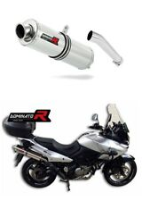 Exhaust silencer muffler DOMINATOR ROUND SUZUKI DL 650 V-STROM 04-06 + DB KILLER