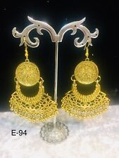 Designer Traditional Earing Indian Jumkha Earring Bollywood Jewellery Free P&P