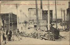 Dayton OH Wrecked Bldgs 1913 Flood Postcard