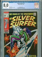 1969 MARVEL SILVER SURFER #11 CGC 8.0 WHITE