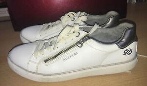 Dockers Sneaker Gr. 40 weiß, Gebraucht