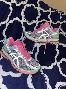 Women's Asics Gel Kayand 22 Running Shoes Pink Size 7 Athletic Shoes