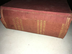 BOOK, DOMESTIC MEDICAL PRACTICE 1918 EDITION