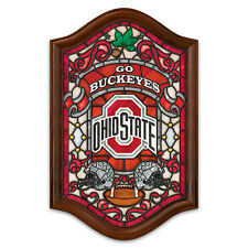 Ohio State University Illuminated Stained-Glass Wall Decor