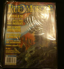 Rue Morgue Magazine #60 SEPT 2006 HTF OOP GODZILLA 54 BOLLYWOOD HORROR ETC