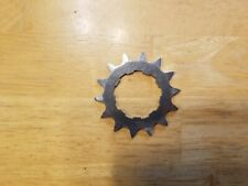 "Redline Stainless Steel 14T Single Speed Bike Cog 3/32"" BMX Mid School Stamped"