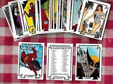 1989 TODD MCFARLANE Set 1 I  Complete Set (45) Comic Images