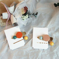 2Pcs Women Hair Clip Barrette Stick Hairpin Bobby Hair Accessories Jewelry