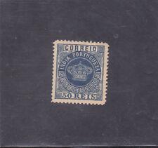 PORTUGUESE INDIA ´CROWN 50 REIS  perf. 12,5 (1880-81)