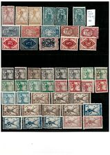 Yugoslavia-SHS Slovenia 1918/20 lot stamps to 5kr MNH