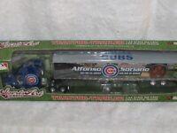 "MLB CHICAGO CUBS ""ALFONSO SORIANO"" SEMI-TRAILER DIECAST/PLASTIC 1/64 ERTL 2007"
