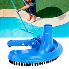Blue Plastic Swimming Pool Suction Vacuum Head Brush Swimming Pool Curved NEW