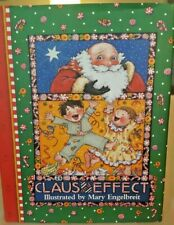 "New 1997 Mary Engelbreit ""Claus And Effect"" Hardcover Book.5.5 X 7.Adorable!"