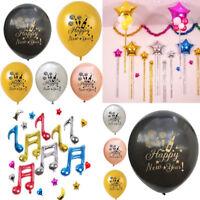 Happy New Year Latex Balloon Birthday Wedding Party Decor Festival Balloons