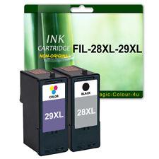 2 ink Cartridge for Lexmark X5495 X5490 Z1300 Z1310 Z1320 Z845 28XL 29XL