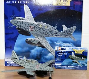 *VERY RARE* CORGI AVIATION AA35709 ME-262 NIGHTFIGHTER 'MOSQUITO HUNTER' NJG11
