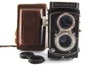 【NEAR MINT】Ricoh Ricohflex New DIA 8cm 80mm F3.5 6x6 VINTAGE TLR From JAPAN #714