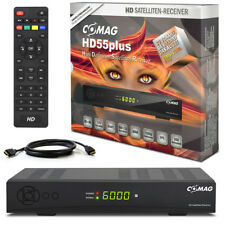 HDTV HD Digital SAT Receiver COMAG HD55 +HDMI Kabel HD 55 DVB-S2 USB ► PVR Ready