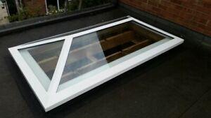 T Glaze/Skylight/Glass/ Flat Rooflight Double Glazed Clear - 1000X2000 GREY