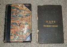 Exploration and Survey of The Great Salt Lake UTAH Howard Stansbury RARE w/ MAPS