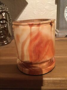 Pine Handcrafted Wooden Candle Holder