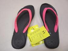 Youth Girls Under Armour Flip Flops Atlantic Dune SMS Sample Shoes-Size 4 Black