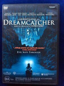 Dreamcatcher - Region 4 DVD - Great Condition - Stephen King - FREE POST