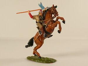 Elastolin 7 cm - Normanne zu Pferd