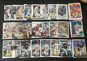 Mostly Diff. Lot 100 Cards-  CHRIS SALE Premium Base Topps Bowman Chrome Red Sox