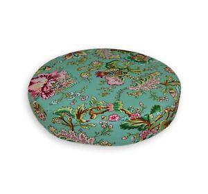 "2""Thick-Round Box Shape Cover*A-Grade Cotton Canvas Chair Seat Cushion Case*Lf5"