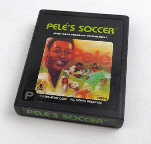Atari 2600 Spiel -- PELE'S SOCCER 1986 (PAL) -- Atari VCS