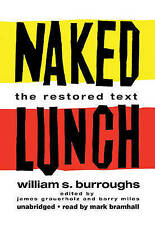 NEW Naked Lunch: The Restored Text by William S. Burroughs