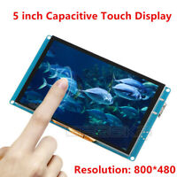 GeeekPi 5'' 800*480 Capacitive Touch Screen LCD Display for Raspberry Pi 4B/3/2B